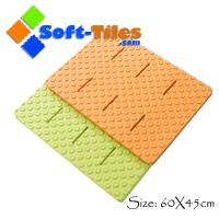 Bath Mat - Best for Tubs and Showers - Non Slip Natural