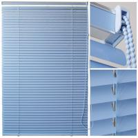 Cheap 35mm aluminum venetian blinds for windows with steel toprail and bottomrail for sale