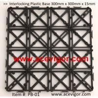 Best PB-01 Interlocking Plastic Base, Plastic mats, Plastic tile wholesale