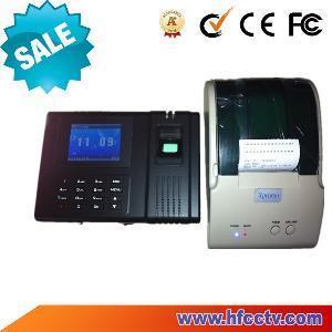 Best Fingerprint Time Attendance with External Thermal Printer (HF-H6) wholesale