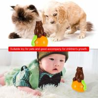 Cheap Christmas Gift Cute Pet Toys , ABS Material Tumbler Cat Toy Funny Sunds Light for sale