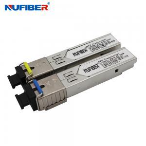Best SC Connector 1.25G SFP Transceiver 1310nm 1550nm SFP Optical Module wholesale