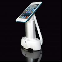 China COMER security alarm locker Anti-Theft Mobile Phone Counter Display Stand with charging cable on sale