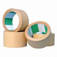 Cheap Kraft paper tapes, suitable for sealing boxes and cartons for sale