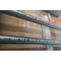 Cheap Alloy Steel Seamless Pipe ASTM A335 P22 P11 P9 P91 WITH Black or Varnish Coating for sale