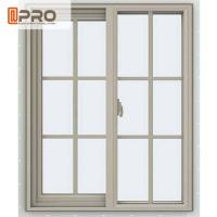 Best Powder Coated Aluminium Sliding Windows Color Optional With Flexibility Frame wholesale