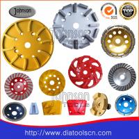 China Sintered / Brazed Diamond Grinding Tools , Diamond Grinding Plate for concrete on sale