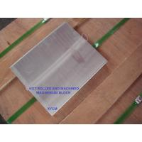 China Forged AZ61 AZ80 AZ91 AM60 magnesium alloy slab 400x960x2500mm, cut to size, good strength, best price, fast delivery on sale