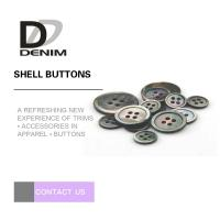 Best Custom Natural Black Shell Button Butterfly 2 / 4 Holes High-End Buttons Lead - free wholesale