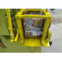 Best 380V 2.2kw Automatic Barbed Wire Making Machine Punching Speed 100 - 120 Times Per Min wholesale