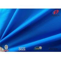 China Semi Dull100% Polyester Elastic Fabric , Satin Spandex Fabric For Wedding Dresses on sale