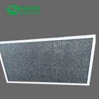 China Honeycomb Activated Carbon Air Filter / Smoke Removal Filter For Housing Ventilation on sale