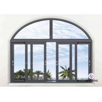 Best Double Glazed Aluminium Sliding Windows For House 1.4mm~3.0mm Wall Thickness wholesale