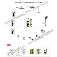 Best chrome finish concealed wall mounted square rain shower faucet set hand shower,Water saving Concealed shower faucet wholesale