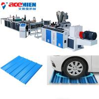 Best Plastic Recycling Corrugated Roof Sheet Making Machine Easy Installation wholesale