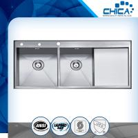 Best Simple design cheap high capacity handmade used kitchen sinks for sale wigh long warranty wholesale