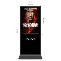 China Windows I3 Self Service Touch Screen Kiosks 49 Inch Advertising Media Player on sale