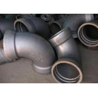 China DN40 To DN2600 Double Socket 45 Angle Elbow Ductile Iron Fittings With T Type And K Type on sale