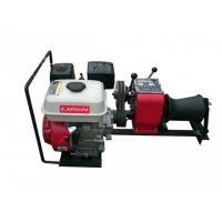 Best 4HP Power Construction Cable Winch Puller Petrol Engine Lifting Machine wholesale