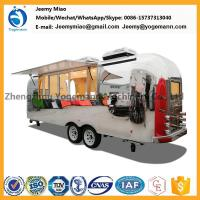 Best Hot Sale Stainless Steel Food Trailer Mobile Catering carts food truck wholesale