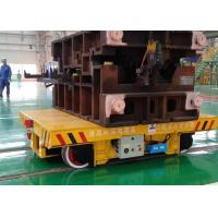 China KPX-20T Battery Powered Steel Structure Electric Pallet Car For Industrial Use on sale