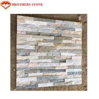 China Eco Friendly Artificial Culture Stone , Classy Clutter Faux Brick Wall Panels on sale