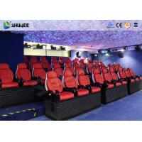 Best Various Special Effects 5D Theater With 5D Motion Chair For Fantastic Future Cinema wholesale