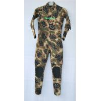 Best Camo neoprene suit for swimming , neoprene shorty wetsuit with Knee Pad wholesale