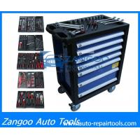 Best High Performance Wheeled Rolling Tool Box  With Full Tools Durable Tool Storage Chest wholesale