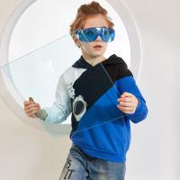 Best New Model Latest Design Boys High Quality Pullover Hoodie with Printed Pattern Age 4-10 wholesale