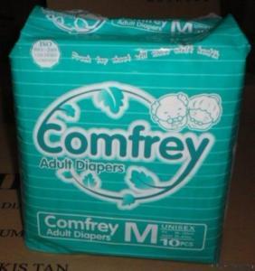 China Comfrey Hot Sale (premium) Series Adult Diaper on sale