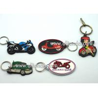 Best Car motorcycle exhibition promotional gifts promotional key chains soft pvc key rings custom car series keychain supply wholesale