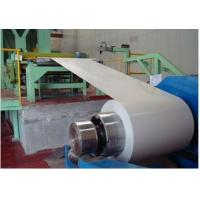 Best 40 - 275 g/m2 Zinc Coating 700 -1250mm Width EN 10169 DX51D+Z Color Coated Steel Coil wholesale