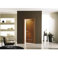 Best House Model Open Inside Swing Solid Wood Doors Customized Color With Knobs / Locks wholesale