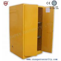Best Zinc Lever Lock Pool Chemical Storage Cabinets With 2 Shelves Fully-welded  Durable and chemical Resistant wholesale