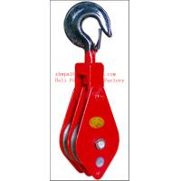 Best wheel lifting pulley wire rope lifting pulley,block pulley wholesale