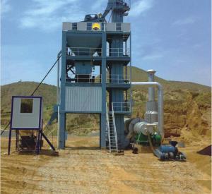 China asphalt batch mix plant(SAP40) on sale