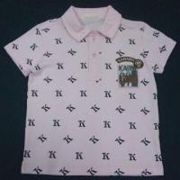 Best T-shirt with allover printed polo wholesale