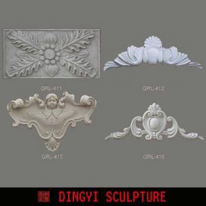 Best Exterior Decorative Door Trim Moulding , Roman GRC Crown Molding wholesale