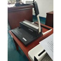 China Small Comb Binding Machine with two kinds hand shank on sale