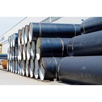 China Round Shape A53 Grade B SAW Steel Pipe / Carbon Steel Pipe Welded Connection on sale