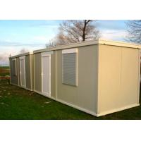Best Leisure Vacation Living Container House With Full Set Of Living Facilities wholesale