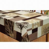 Best Table cloth, made of 100% polyester printing wholesale