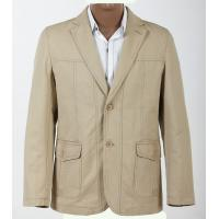 China Customized Quality Cute and Stylish, White, Size, 52 Size 54 Young Mens Cotton Suit on sale