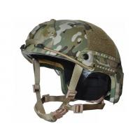 Best Level IIIA Ballistic Helmets For Law Enforcement Dual Lateral Rail System wholesale