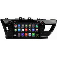 Best Ouchuangbo Car Multimedia Kit Head Unit for Toyota Corolla 2014 GPS Navigation Android 4.4 System OCB-7019D wholesale