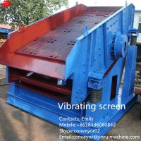 Best Jinrui industrial sieve YK mine coal vibration sieve circular vibrating screen wholesale