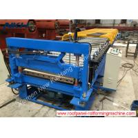 Best Corrugated Roof Panel Roll Forming Machine 10mm Low Rib For Galvanized Steel wholesale
