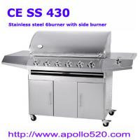 China LP Gas Barbecue Grill 6burners on sale