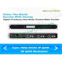Buy cheap Digital CATV Over IP to QAM Modulator 32 Channel With Scrambler And Multiplexer product